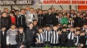 Fikret Orman Beylikdüzü Beşiktaş Futbol Okulu'nu açtı