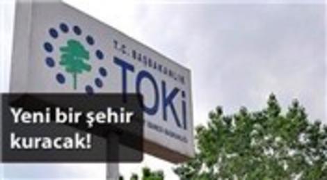 TOKİ İzmir Çeşme'de 1153 konutluk yeni projenin startını verdi