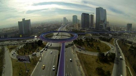 Ankara bisiklet otobanı projesi ile tanışıyor