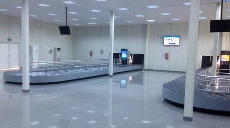 Libya'da Uluslararası Havalimanı İç-Dış Hatlar Geliş Terminali açıldı