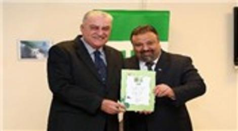 WWF, HDI Sigorta'ya 'Yeşil Ofis Belgesi' verdi