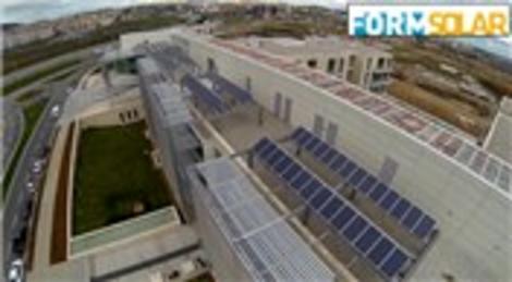 Teknopark İstanbul'un güneş enerjisi sistemlerini FORMSOLAR projelendirdi
