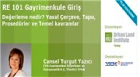 Cansel Turgut Yazıcı ile ULI Türkiye Eğitimleri başlıyor