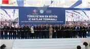 İzmir Adnan Menderes Havalimanı yeni iç hatlar terminali törenle açıldı