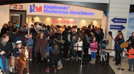 Trump AVM'deki Kidzmondo'yu 50 bin kişi ziyaret etti