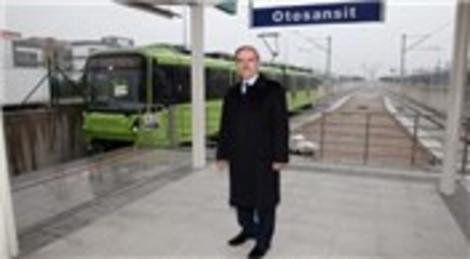 BursaRay Kestel Hattı'nda ilk 4 istasyon açılıyor