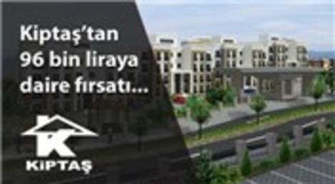 Kiptaş Hadımköy 3. Etap'ta 96 bin liraya daire fırsatı