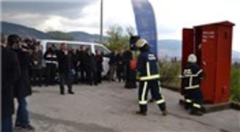 Bursa'nın dar sokaklardaki yangın dolabı sayısı 60'a çıktı