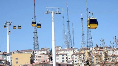 Ankara Yenimahalle-Şentepe teleferik hattı açıldı