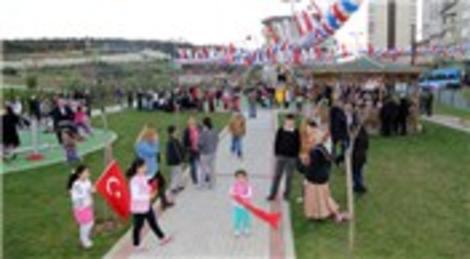 Ataşehir'de Şerife Bacı Parkı açıldı