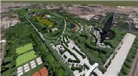 Kayseri Şehir Parkı'nda 160 metrelik seyir kulesi olacak