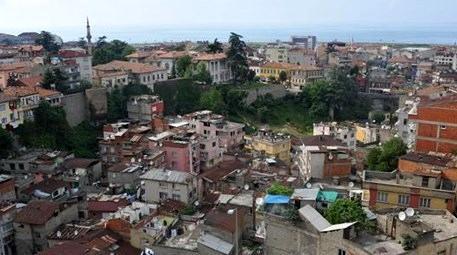 Trabzon Tabakhane 338 bina kentsel dönüşüm kapsamında yıkıldı