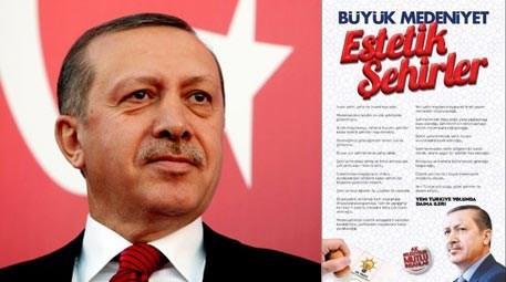 Tayyip Erdoğan'dan yerel seçimlere 'Estetik Şehir' mührü!