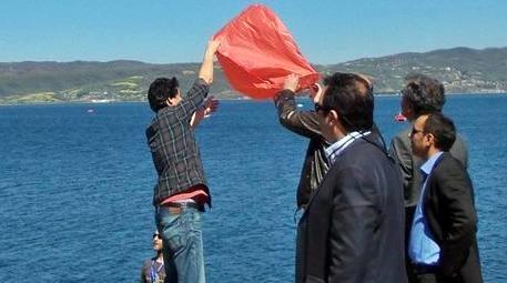 GÖLDER, Dünya Su Günü'nde Sapanca Gölü kıyısında basın açıklaması yaptı
