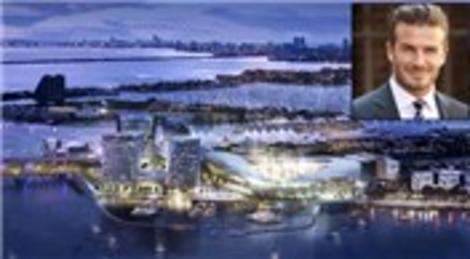 David Beckham 25 bin kapasiteli kendi stadını yapacak