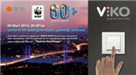 VİKO WWF-Türkiye'nin yürüttüğü 'Dünya Saati' uygulamasını destekliyor