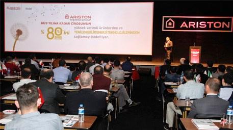 Ariston Thermo Group ısıtma sektörünün geleceğini bayileriyle paylaştı