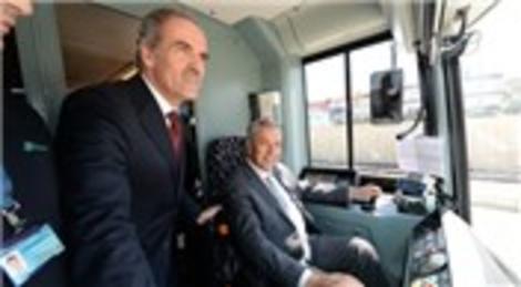 Bursaray Kestel hattının Gürsu istasyonu ulaşıma açıldı