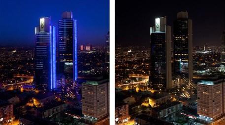 Akbank'ın ışıkları 'Dünya Saati' için bu yıl da sönecek