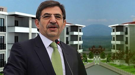 İdris Güllüce 'Herkesin evi olsun istiyoruz'