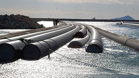 KKTC Su Temin Projesi'nde ilk blok deniz tabanına yerleştirildi