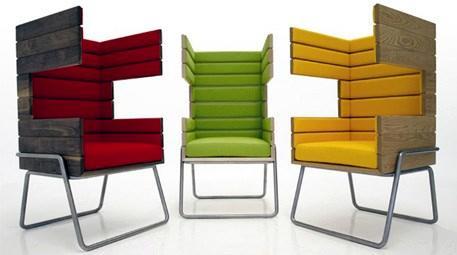 Gi Booth serisi koltuklar tasarımı ahşaba yansıtıyor