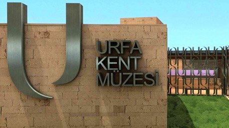 Urfa Kent Müzesi ziyarete açıldı
