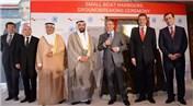 Abdullah Gül STFA'nın Kuveyt'teki temel atma törenine katıldı