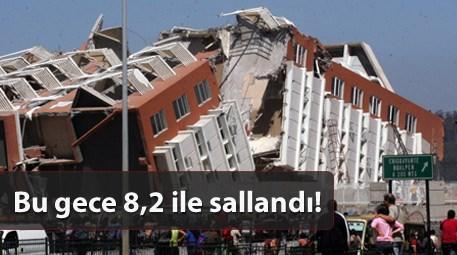 Dünyanın en şiddetli depremleri! Şili listenin ilk sırasında