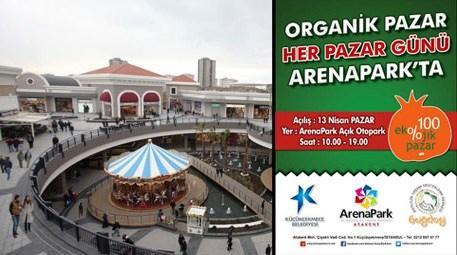ArenaPark'a organik pazar kuruluyor