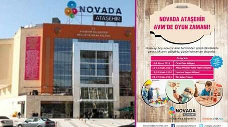 Novada Ataşehir AVM, oyuncak atölyesi etkinliklerine devam ediyor