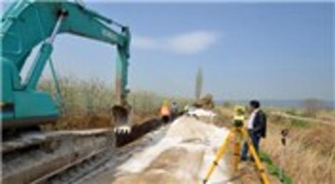 BUSKİ, 75 kilometrelik içme suyu hattı imalatı gerçekleştirdi