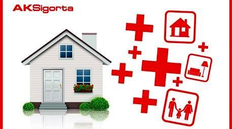 Aksigorta ev-eşya sigortası ile güven alanınız daha da genişledi