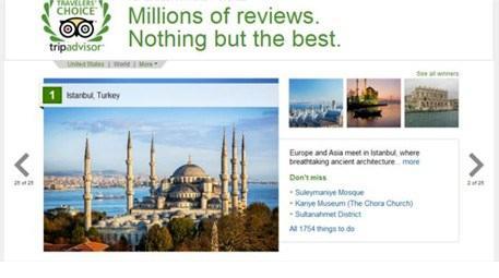 İstanbul dünyanın en iyi tatil tercihleri listesinde birinci oldu