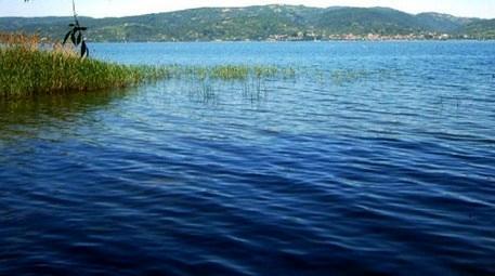 Sapanca Gölü'nün su seviyesinde düşüş yok!