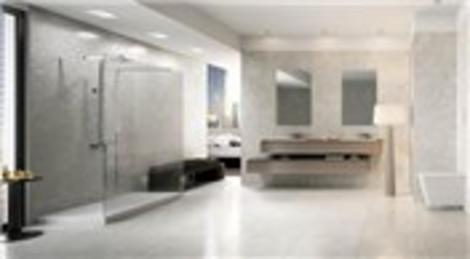 Kalebodur Pietra Antique serisi eşsiz banyo mekanları sunuyor