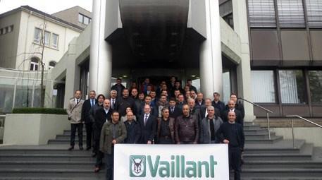 Vaillant Türkiye, inşaat sektörünün öncülerini Almanya'ya götürdü