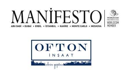 Ofton İnşaat'ın iletişim partneri Manifesto Grubu oldu