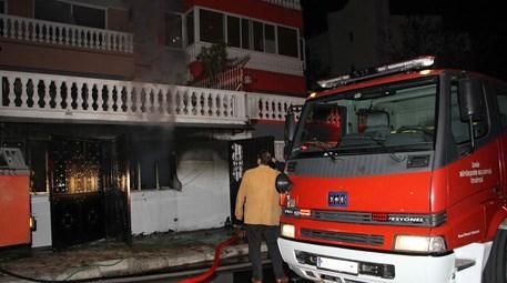 İzmir Çiğli'deki bir huzurevinde yangın çıktı