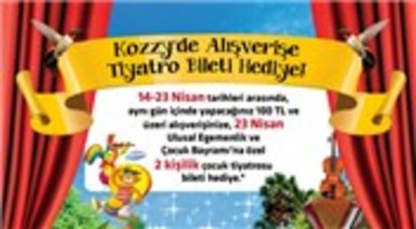Kozzy AVM çocuklara tiyatro şenliği sunacak