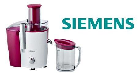 Siemens katı meyve sıkacağı ile çocukların enerjisi hiç bitmesin