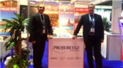 Projebeyaz, Türkiye'yi Dubai ve Kuveyt'teki fuarda temsil etti