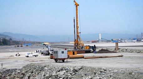 Ordu-Giresun Havaalanı inşaatında kule yapımına başlandı!