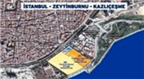 Emlak Konut GYO Zeytinburnu Kazlıçeşme'nin yer teslimini yaptı