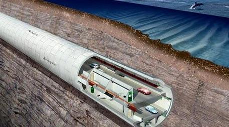 Avrasya Tüneli ile Kazlıçeşme-Göztepe arası 15 dakikaya inecek