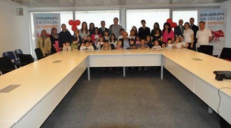Dumankaya İnşaat 23 Nisan için çocuklara etkinlik düzenledi
