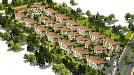 Bahçeşehir'de yeşiller içinde lüks bir hayat; Asmalı Sokaklar