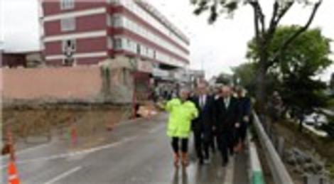 Recep Altepe Santral Garaj-Ankara yolunda incelemelerde bulundu