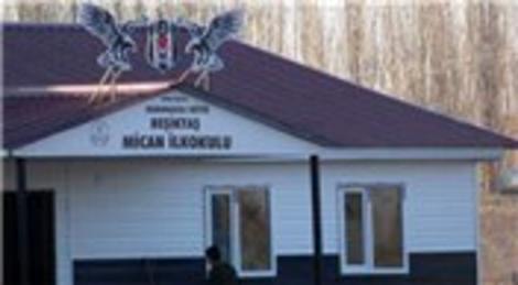 Iğdır Beşiktaş Mican İlkokulu'nda eğitime başlandı