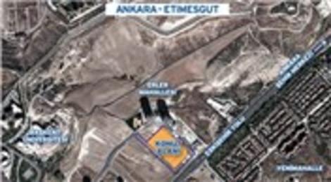 Emlak Konut GYO Ankara Etimesgut arsasını satışa çıkarıyor